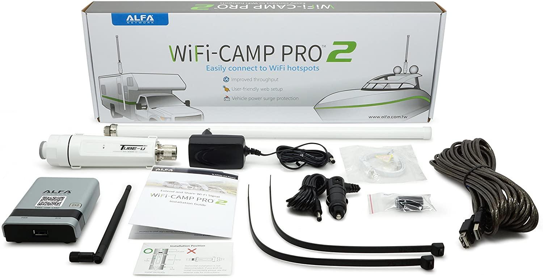 Alfa WiFi Camp Pro 2 WiFi Repeater Kit