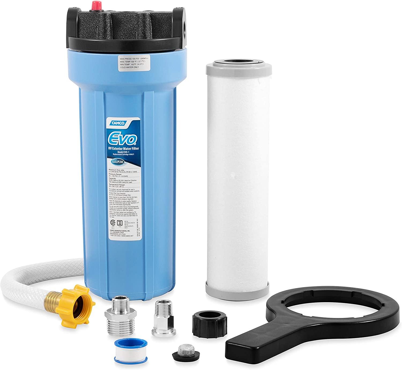Camco Evo 40631 Premium RV/Marine Water Filter