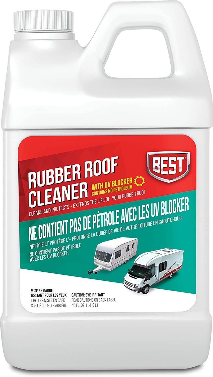B.E.S.T. 55048 Rubber Roof Cleaner/Protectant - 48 oz