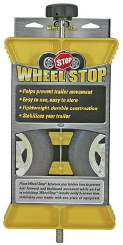 Camco RV Wheel Stop- Stabilizes Your Trailer