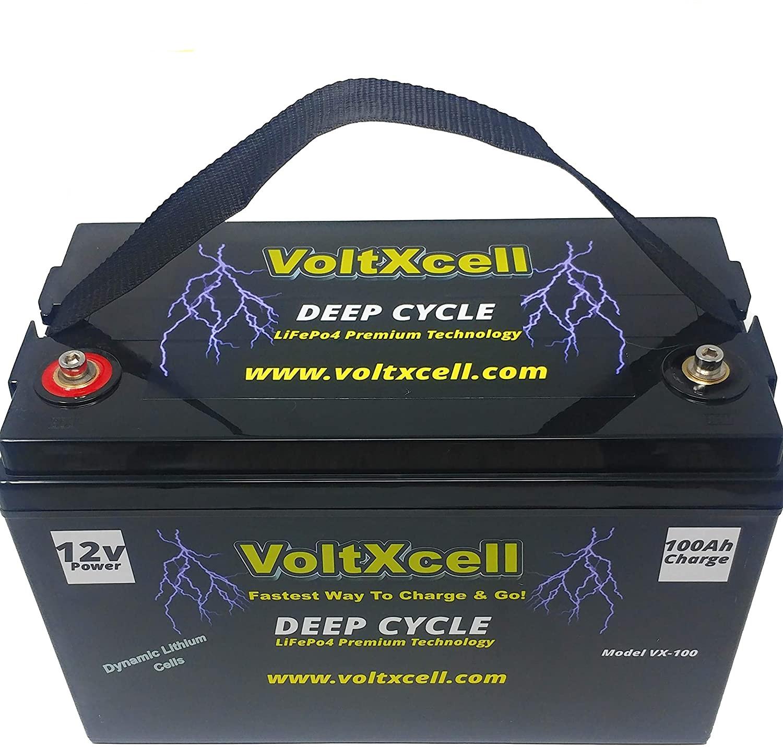 VoltXcell Volt LifePo4 100ah Lithium Battery