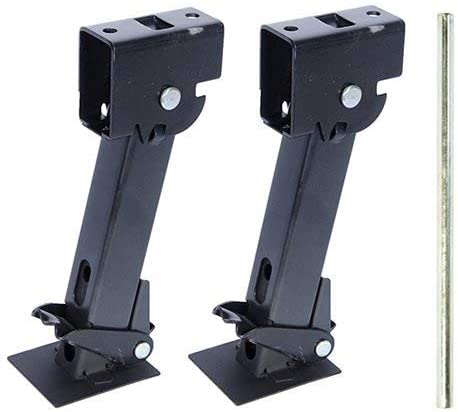 Pair of Telescoping Trailer Stabilizer Jacks  by Pacific Rim