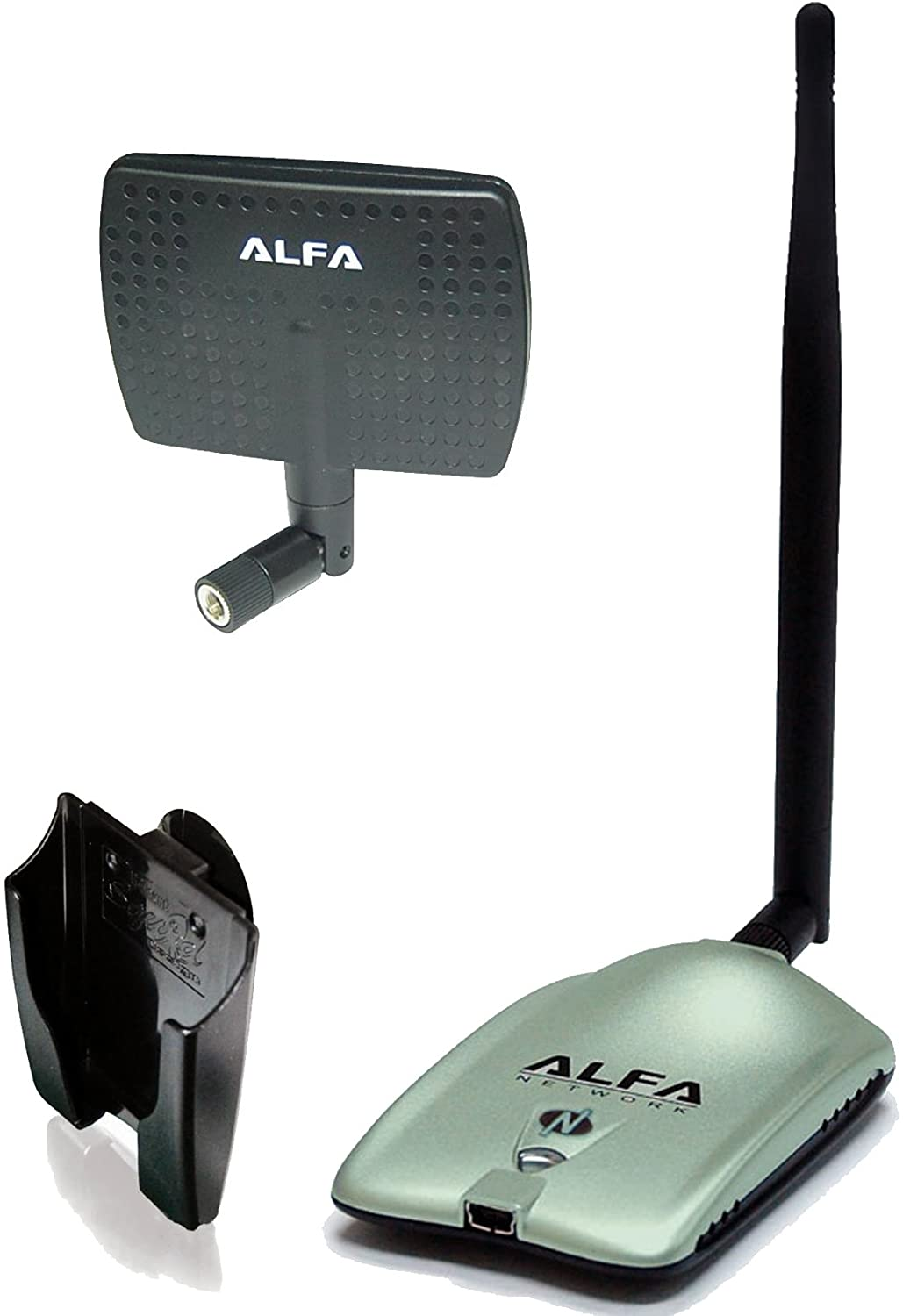 Alfa 2000mw 2w 802.11 G / N Wireless Long-range Wifi Network Adapter