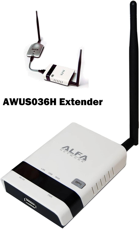 Alfa R36 802.11 b/g/N WiFi Repeater & Range Extender