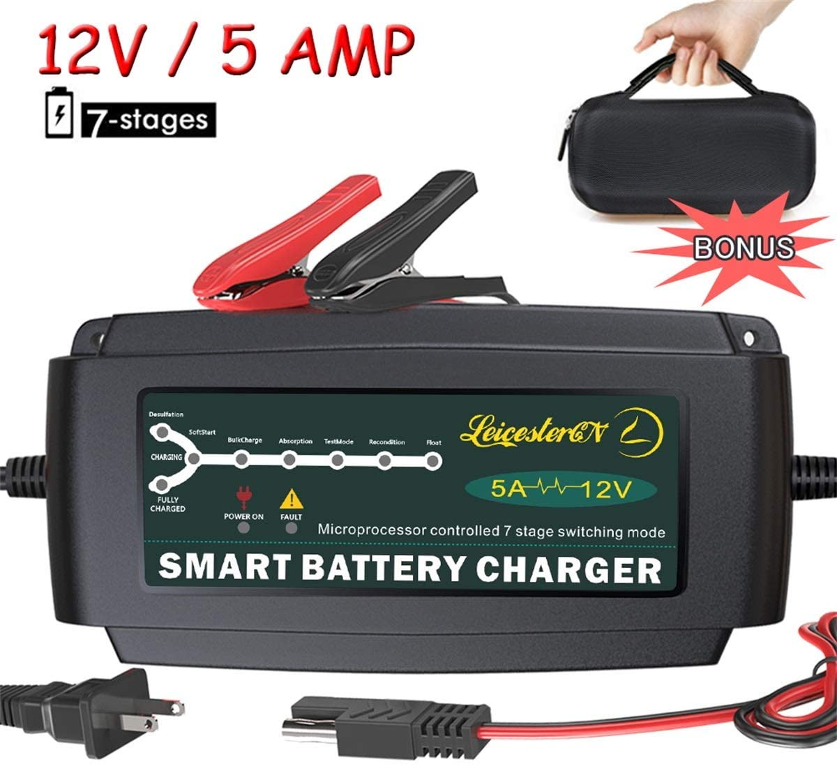 Best Deep Cycle RV Battery Charger1